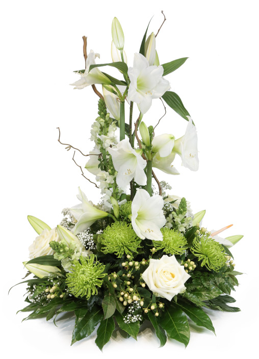Le lys blanc fleuriste remiremont artisan fleuriste - Lys blanc signification ...